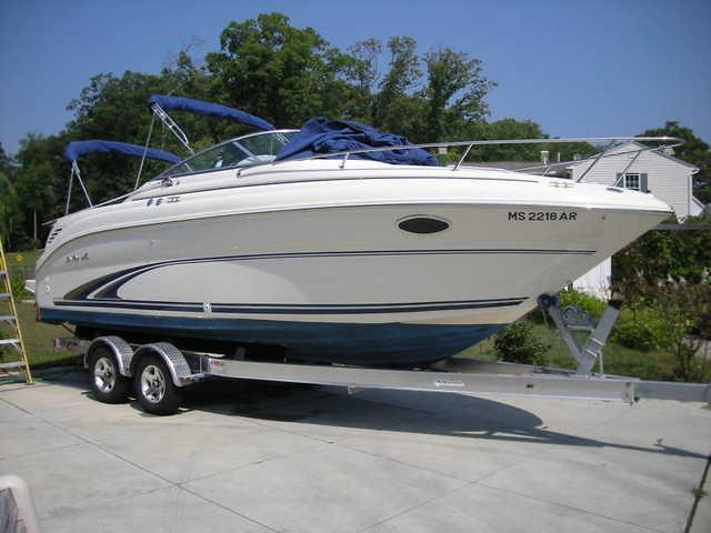 2000 Sea Ray 245 Weekender - Marina del Rey, Los Angeles, California