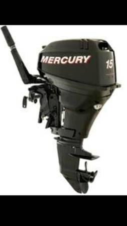 Mercury 4-stroke engine 15HP - Los Angeles