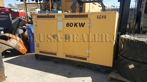 1996 E & E 60-KW SKID MOUNTED GENERATOR - Los Angeles