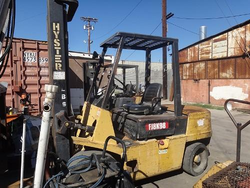 HYSTER H60XL 6,000 LBS FORKLIFT - Downtown, Los Angeles, California